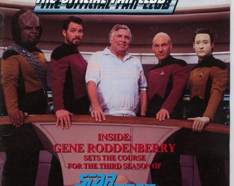 Star Trek the official Fan Club Magazine #70 October November 1989 VG