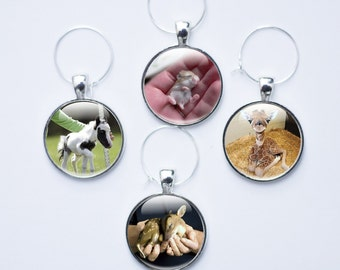 Wine charms - Animal Wine Glass Charms - Baby Animal Wine Charms - Wine Charm Set (WCA2)