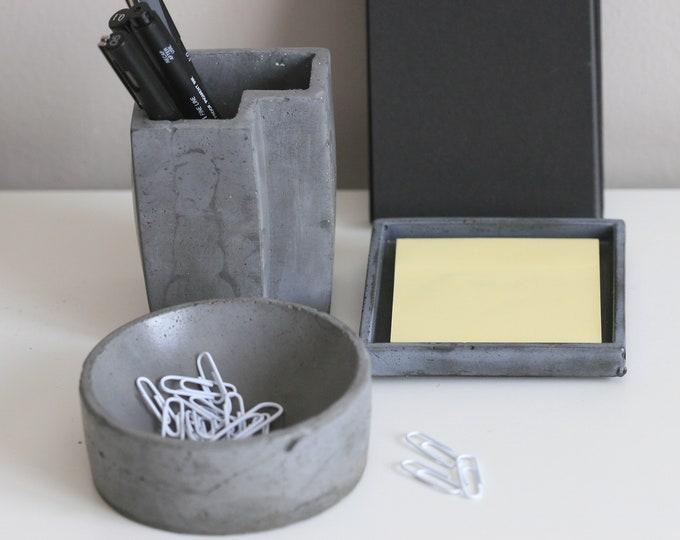 Desk Storage SET | Office Accessories | Desk Organizers