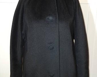 Vintage Black Blin and Blin Lilli Ann Style Coat