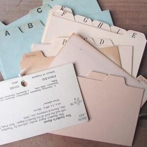 3 x 5 cards