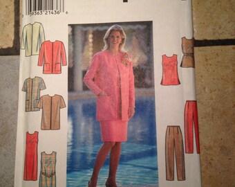 Simplicity 8074 Size 16, 18, 20 Misses' Jacket, Dress, Tunic, and Pants Pattern UNCUT