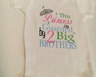 Princess Gaurded by 2 Big Brothers
