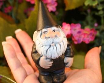Garden Gnome - Biker Harley The Mini Gnome