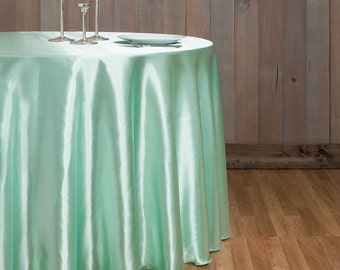 Mint tablecloth Etsy