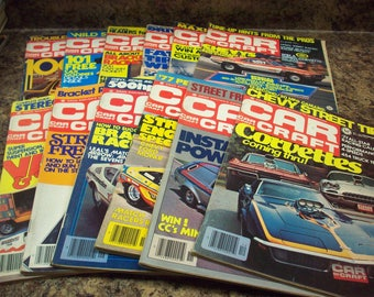 1976 Entire Year Car Craft Magazines Cars Custom Drag Racing Trucks Vans Street Hot Rods