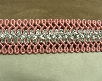 FANCY Ribbon - 2.5 cm - pink