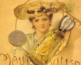 Vintage Glass Avon Perfume Bottle Sweet Honesty