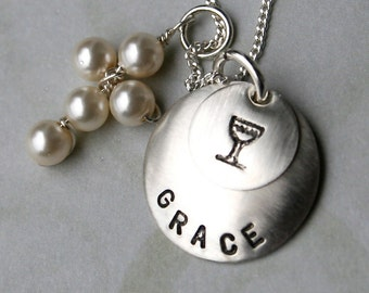 Sterling 1st Communion Necklace