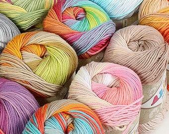 Cotton Knitting Yarn Australia : Cotton yarn etsy