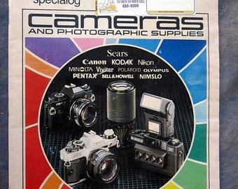 BTS Sears Camera and Photogaphic Supplies Catalog 1982-83