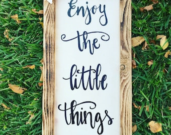 Enjoy the little things - Smooth as Tennessee whiskey