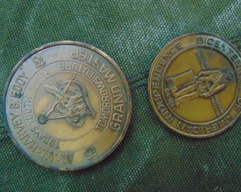 Two Masonic collectible coins from Florida