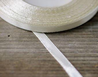Thin Satin Ribbon 6mm 35yards Wedding Ribbon DIY Craft Ribon Sewing Ribbon Wedding Decor Wedding Bouquet Ribbon Florist Supplies Ribbons