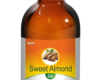 Sweet Almond Oil - Pure & Natural - 15 ml to 250 ml