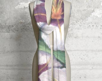 Printed Scarves from Artwork