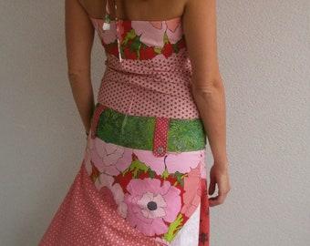 "Charlotte in strawberries"""" - designer Rastalafe Bohemian dress"