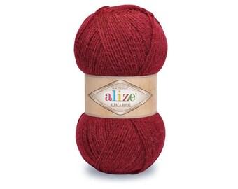 Alize Alpaca Royal yarn Alpaca Wool Knitting yarn Wool shawl warp  Winter yarn Blend wool Wool yarn Acrylic yarn Crochet yarn Blend yarn