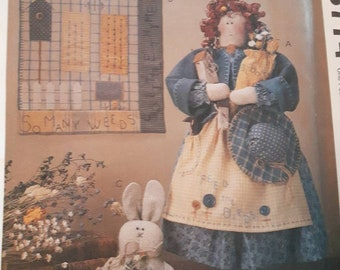 McCall's 8774, Garden Doll, Quilt, and Bunny Sewing Pattern