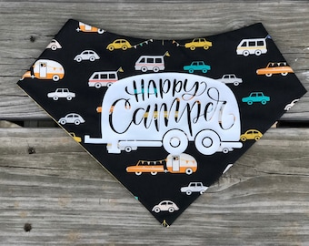 The Happy Camper pet bandana