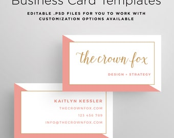 Edgy business card etsy business card template printable design business card customizable business card template custom business card psd template photoshop fbccfo Image collections