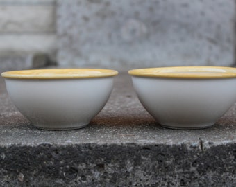 Set of 2 Vintage Pentik Finland Bowls, Scandinavian Design