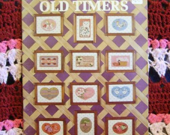 Kappie Old Timers Patterns for Cross Stitch and Needlepoint