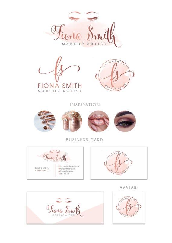 Lash Logo Design Artist Makeup
