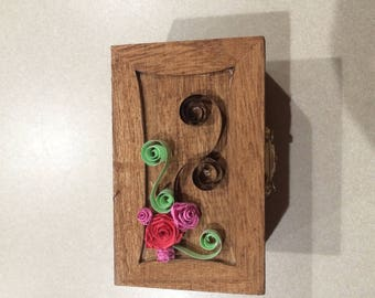 Small Paper Quilled Box