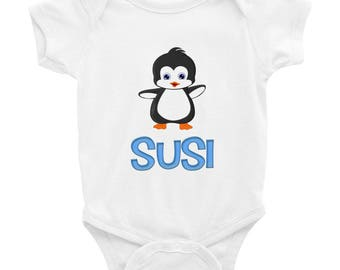 Susi Penguin Infant Bodysuit