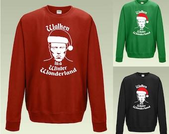 Walken in a Winter Wonderland JH030 Funny Christmas Jumper Sweater