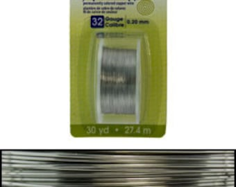 Artistic Wire Dispenser Pack Stainless Steel 32ga - 30 yards  (WR23832)