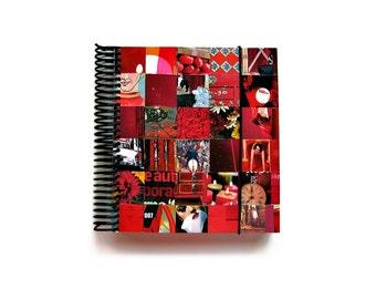 Red Fat Notebook Spiral Bound