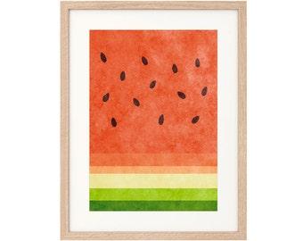 Watermelon - Art Print - Archival inks & paper