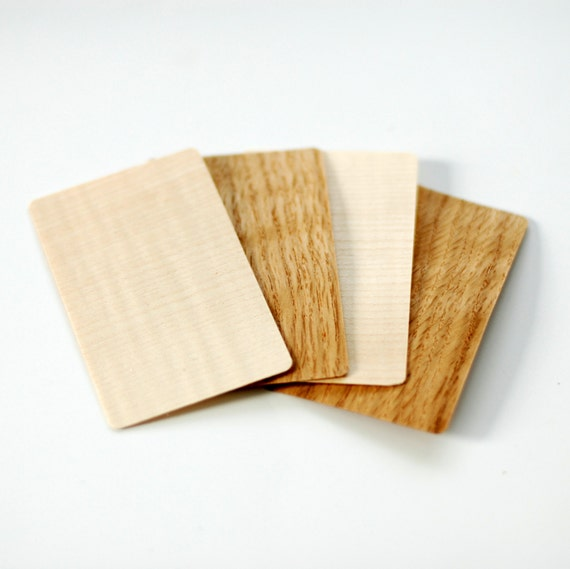 Wood business cards wooden business cards blank wood tags reheart Choice Image