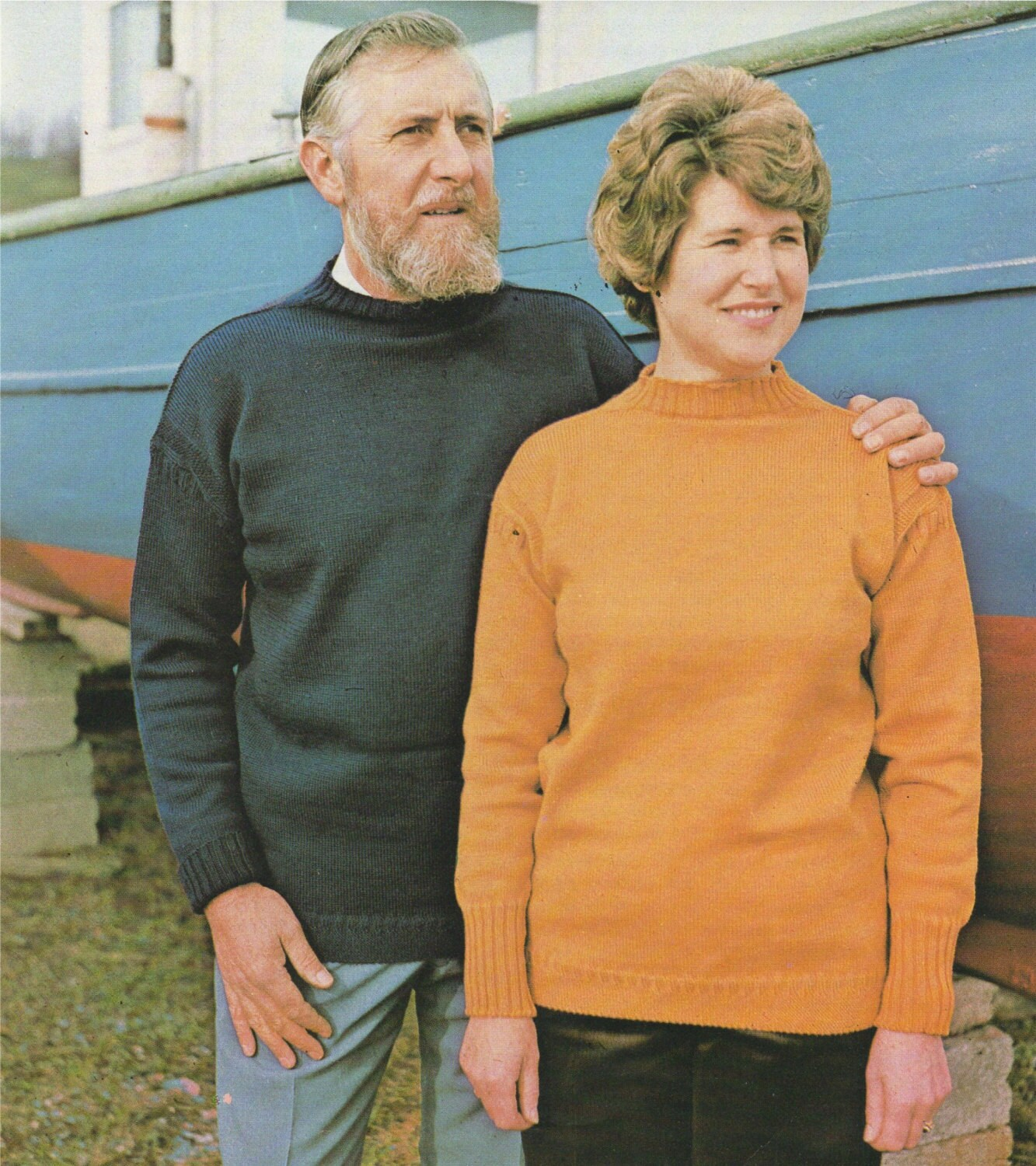 Womens Mens Boys and Girls Guernsey Sweater PDF Knitting