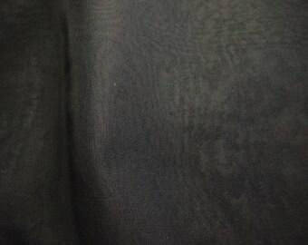 CHIFFON BLACK POLYESTER 50/150 CMS