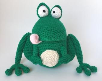 Amigurumi crochet pattern: Frog