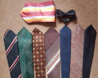 Bundle of Vintage Neckties