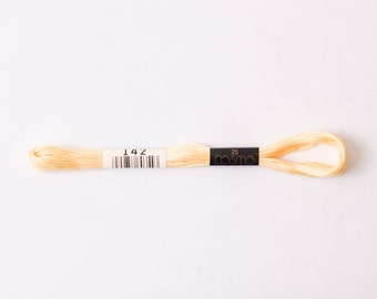 Cosmo  embroidery floss - golden haze #142 - 8m skein - 6 strands - size 25