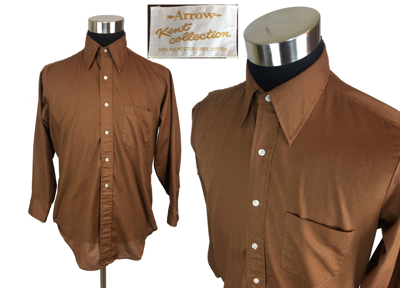 Vintage 70s LEE - Chetopa Twill Button-Down Work Shirt MEDIUM // Work Shirt // Workwear // 1970s // Lee Rider // Throwback // Union Made Ug8RkGrq1B