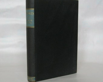 Ruskin. David Larg. Signed. 1st. Edition.