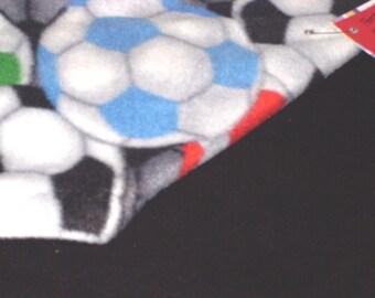 Fleece Soccer Blanket