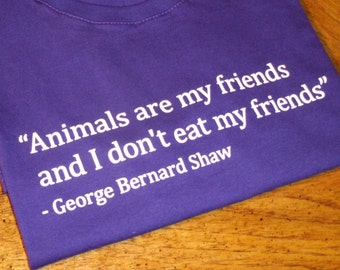 Animals are my friends and I don't eat my friends - Women's T-shirt