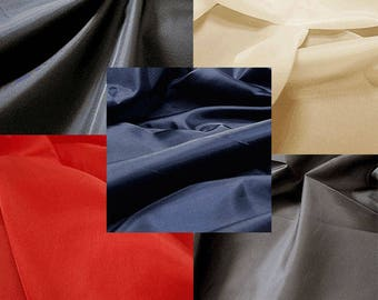 Lining Fabric 100% Polyester by yard Lining taffeta fabric