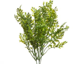 Artificial Wild Green Foliage Sprigs Stems