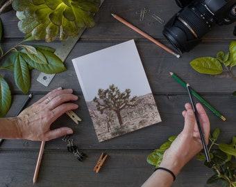 Laminate Notebook / Journal, Dry Land No 5901, Sketch Notebook, Writer's Notebook.