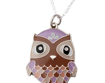 Hootie Owl Necklace