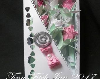 Box of Roses, SVG,Silhouette Cameo,Cricut,ScanNCut,Scal,Mtc