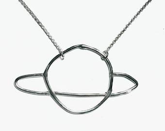 Doodle Saturn Necklace